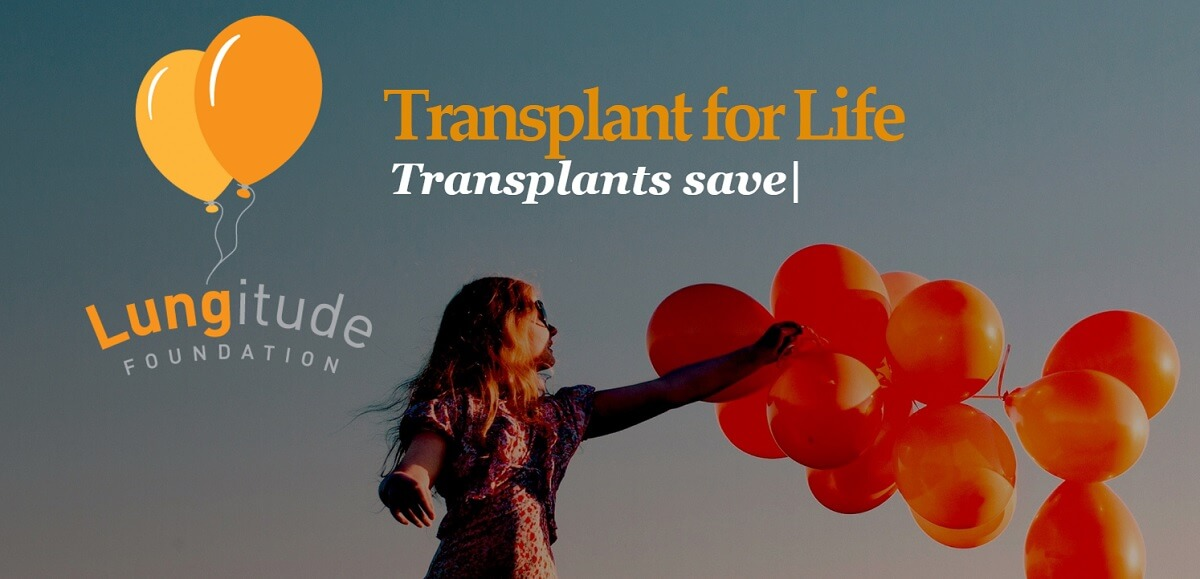 Lungitude Foundation helps lung transplant recipients.