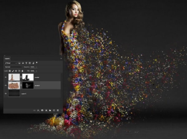 Tipit's Model lets you do special effects.