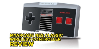 My Arcade's wireless NES Classic controller is excellent