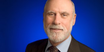 Vint Cerf: Musings on birthing the internet, AI, and wishing for the Star Trek computer
