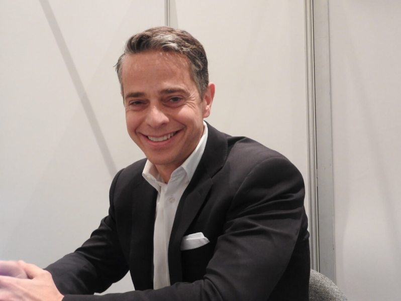 Owen Mahoney, CEO of Nexon, at GDC 2017.