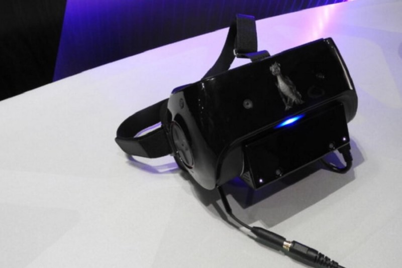 Qualcomm's VR headset.