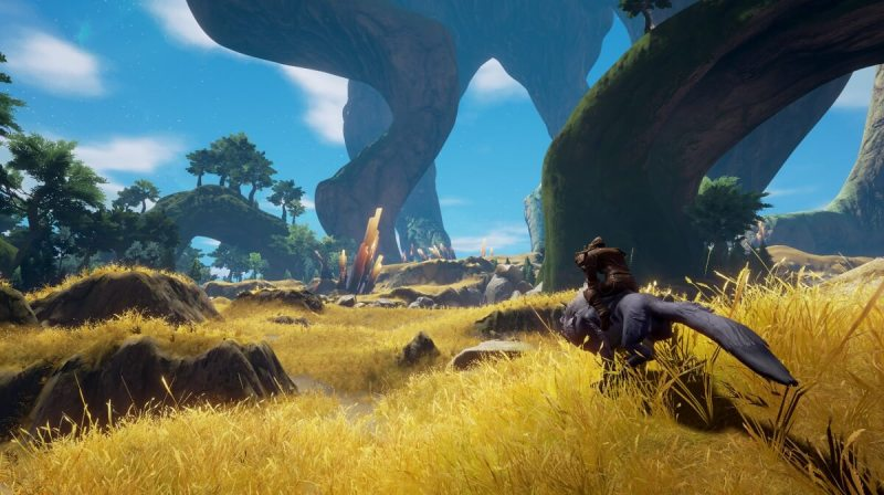 The world of Rend, a fantasy survival online game.