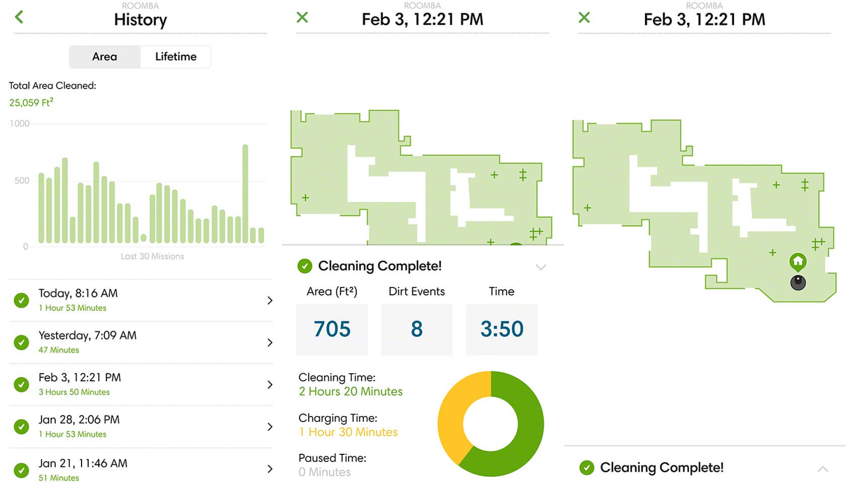 Irobot Updates Home App With Roomba Clean Map Reports