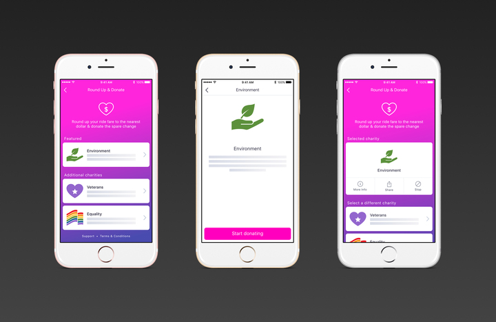 Lyft will let users donate part of their fare to charity