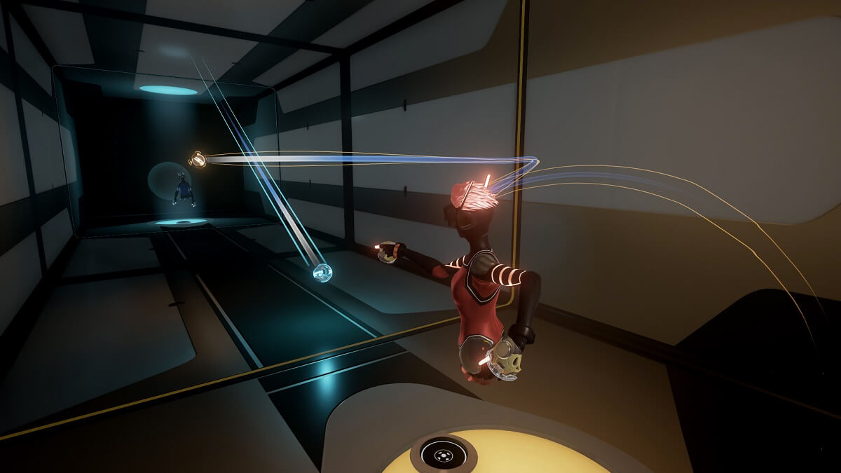 Sparc is a sports game that isn't set in the Eve universe.