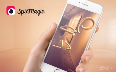 Spinmagic Lets You Draw On Augmented Reality Images On Your Iphone