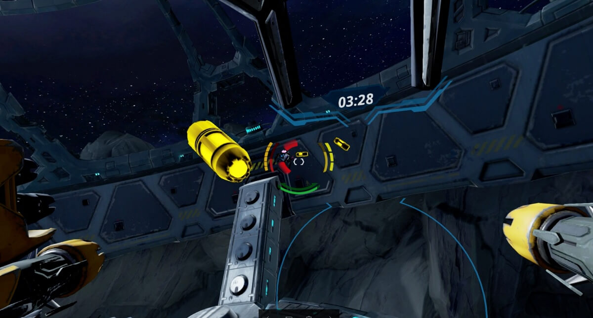 StarBlood Arena lets you fight in battle pods in VR.