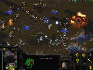 StarCraft: Remastered was one of the esports competitions at G-STAR.