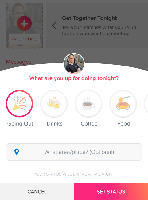 Tinder is testing a Matches Up For feature   VentureBeat