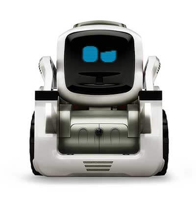 Speed of movement and eye contact are key to giving Anki's Cozmo life-like believability. Image Credit: Anki, Inc.