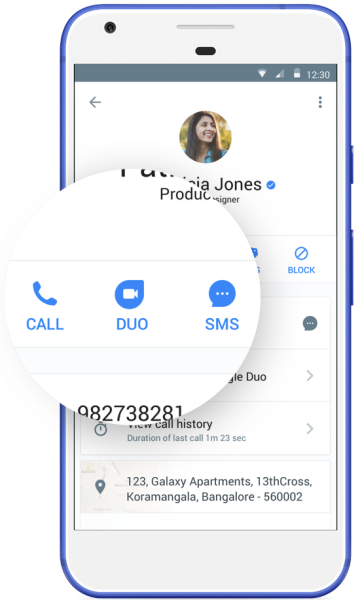 Google Duo video calling to be integrated into crowdsourced caller