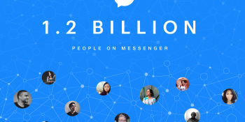 Facebook Messenger passes 1.2 billion monthly active users