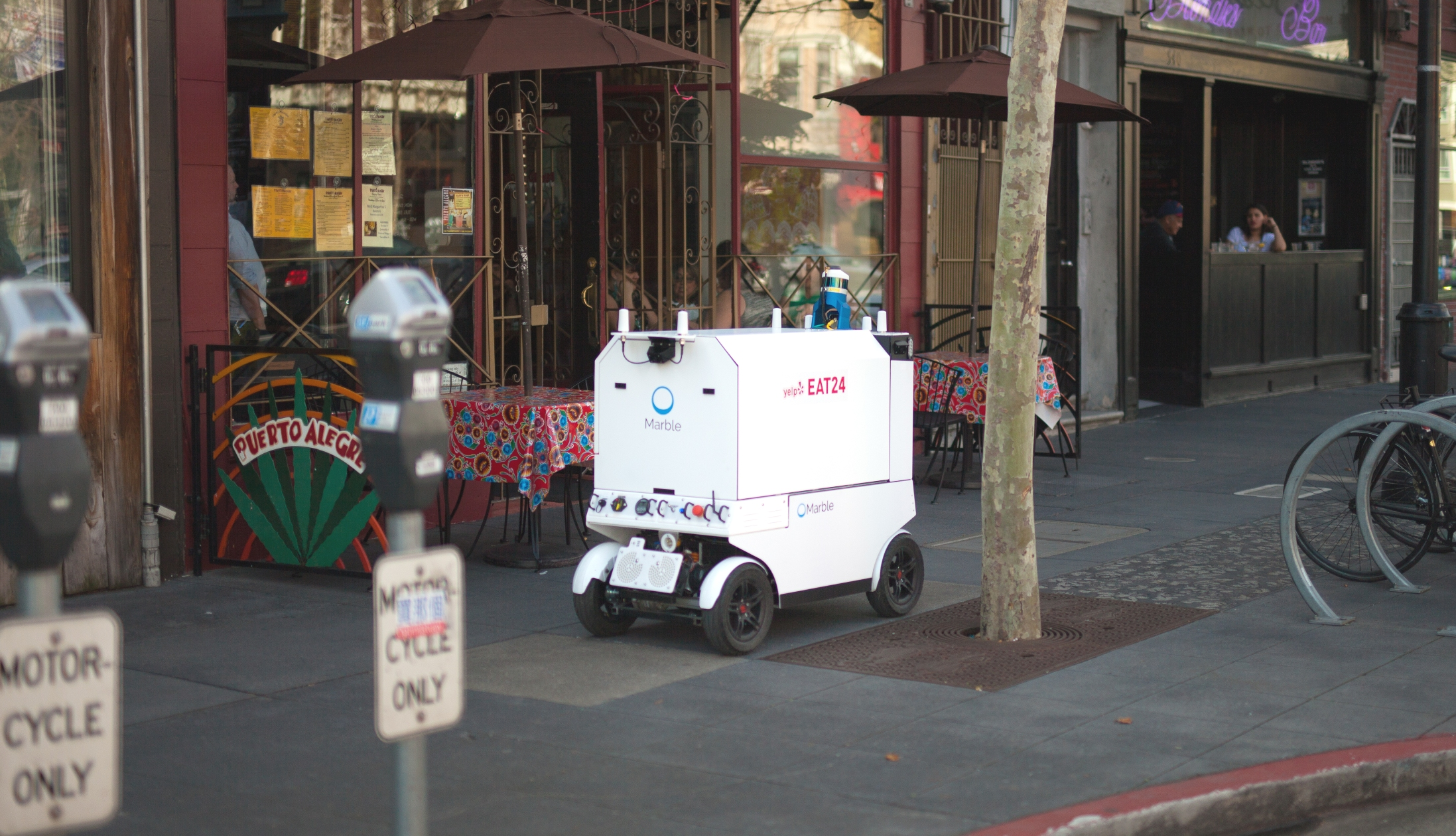 Marble robots are now making food deliveries in San Francisco