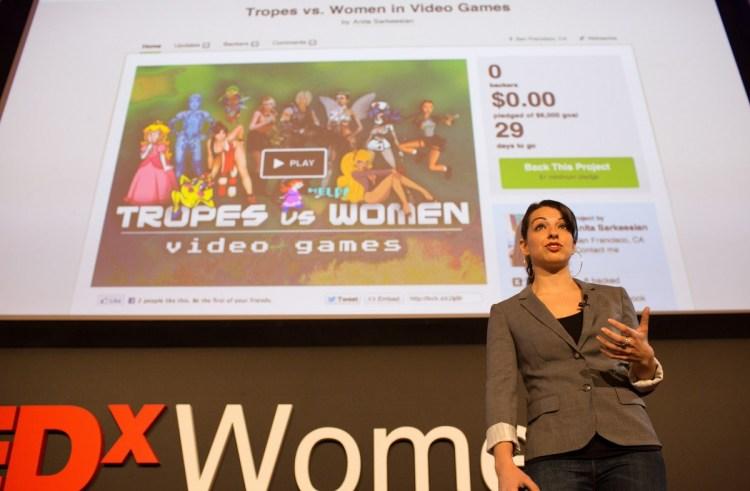 Anita Sarkeesian of Feminist Frequency won the GDC Ambassador Award.