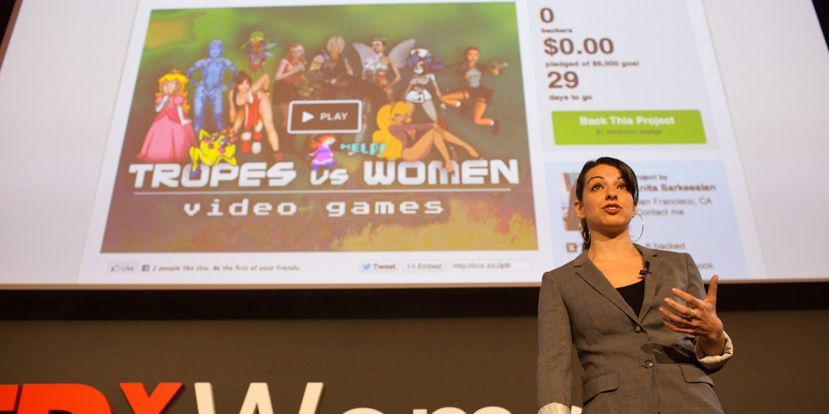 Anita Sarkeesian of Feminist Frequency won the GDC Ambassador Award.
