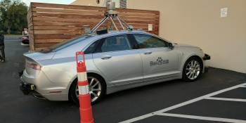 Baidu launches Project Apollo autonomous driving platform, will test on urban roads by 2018