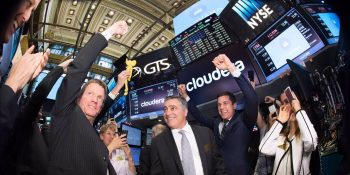 Cloudera ends first day of trading with $2.3 billion market cap, 44% lower than 2014 valuation