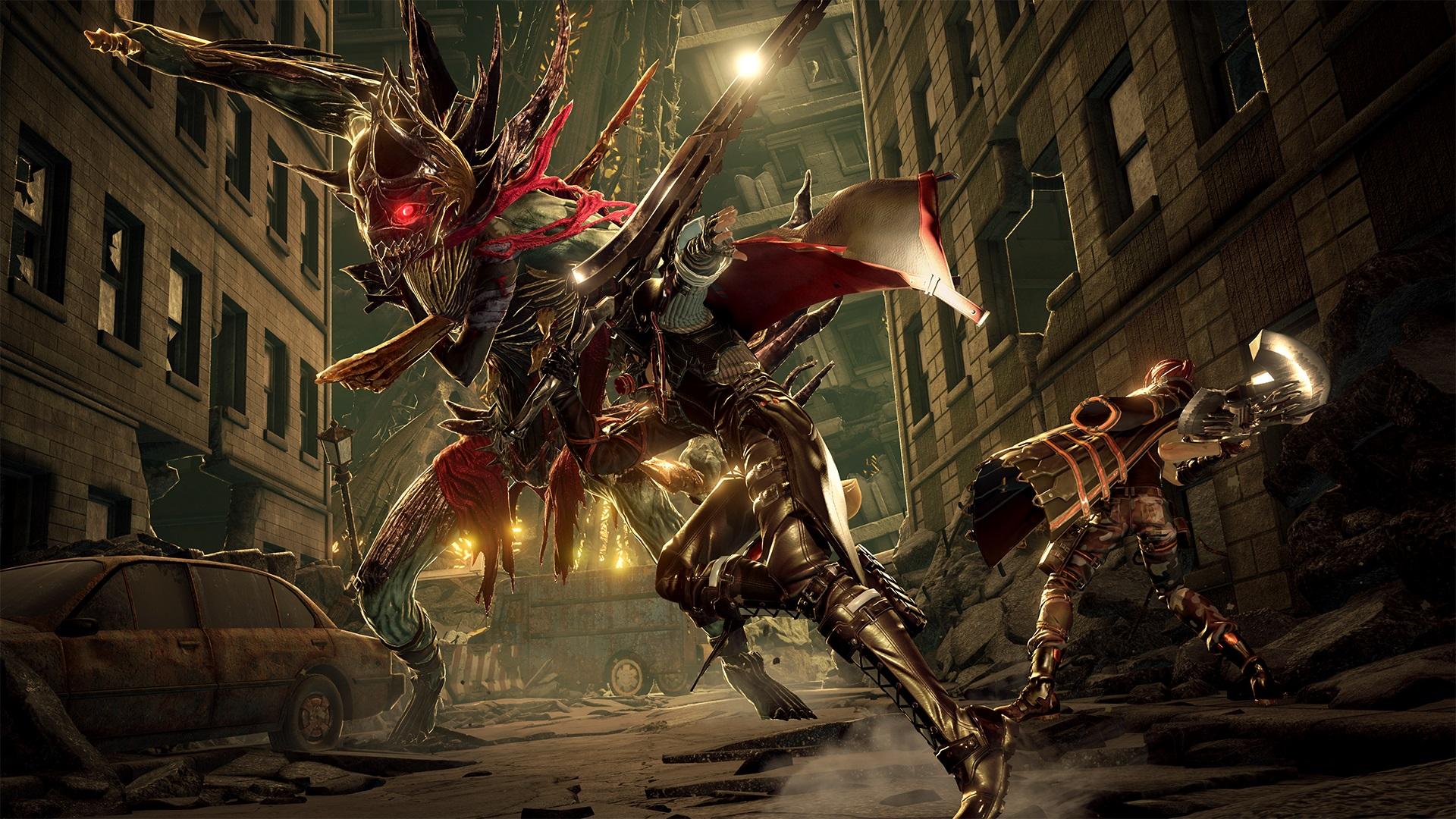 Bandai Namco Announces A New JRPG Called 'Code Vein'