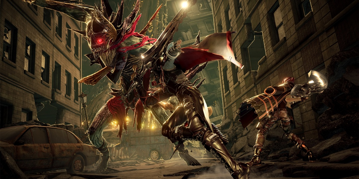 Code Vein was a blood-themed action-RPG set for 2018 from Bandai Namco.