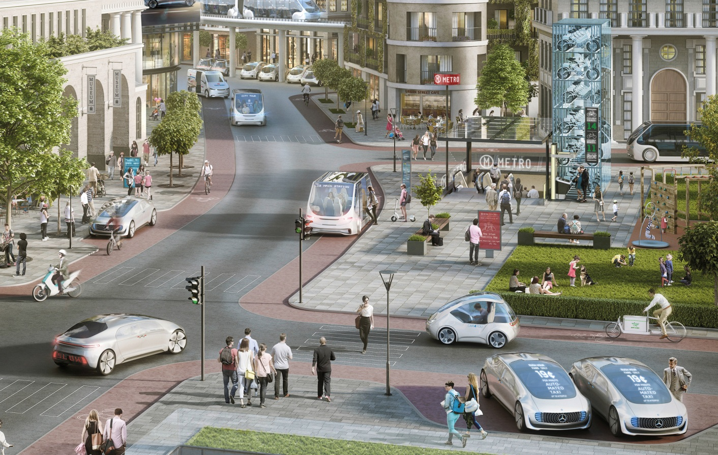Mercedes and Bosch to launch driverless taxis by 'beginning of the next decade'