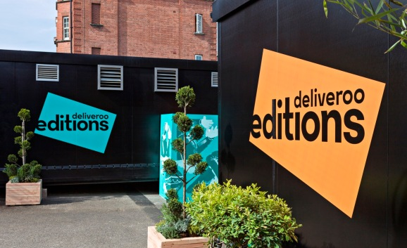 "Deliveroo Editions is a ""kitchens-only"" food delivery service."