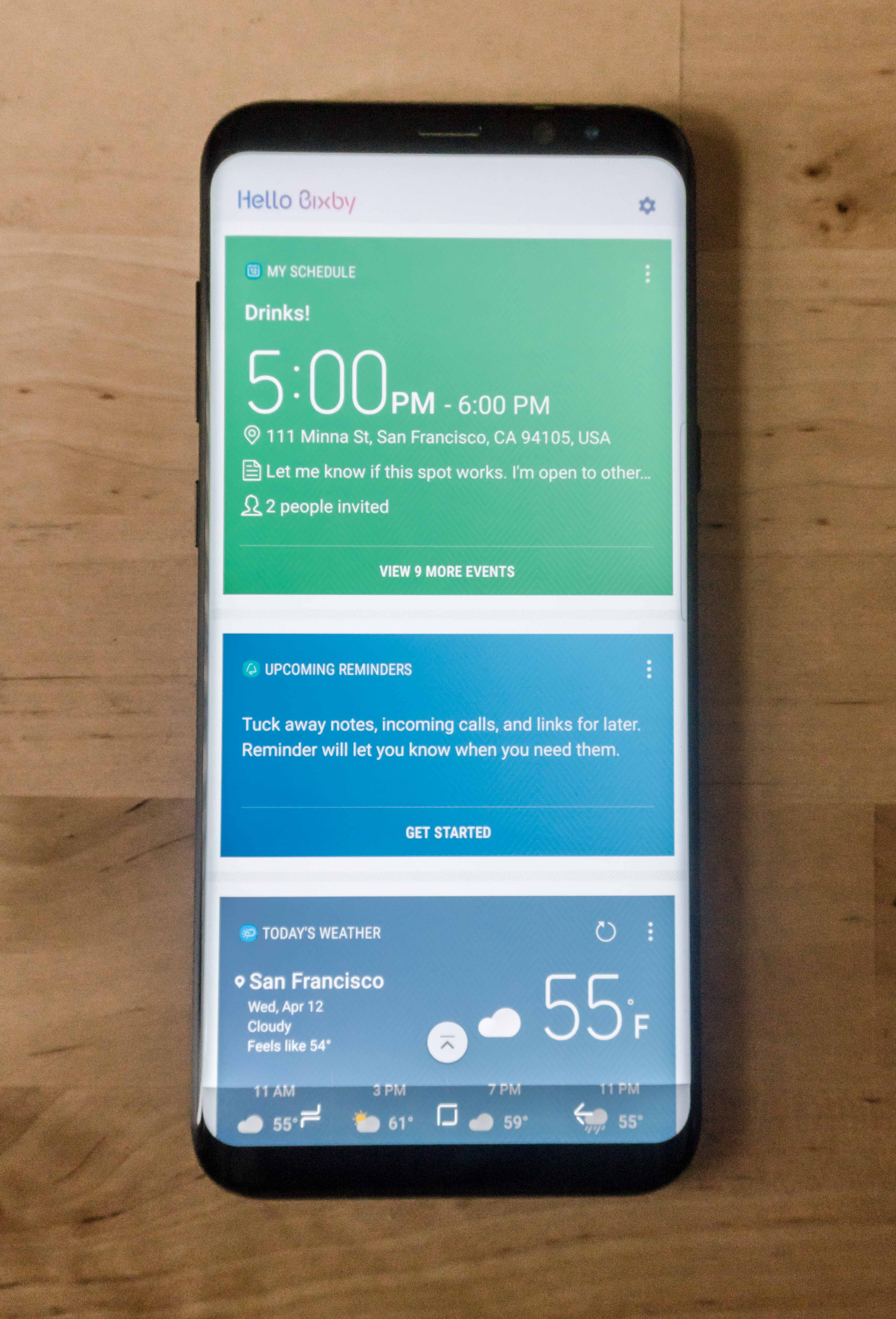 Samsung Galaxy S8 review: Design and performance impress, but Bixby