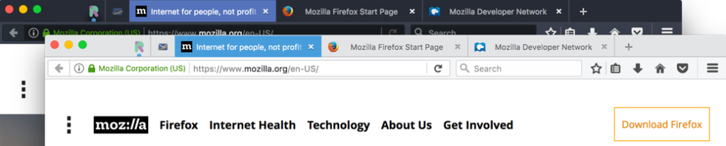 Firefox 53 arrives with new themes, separate graphics process on