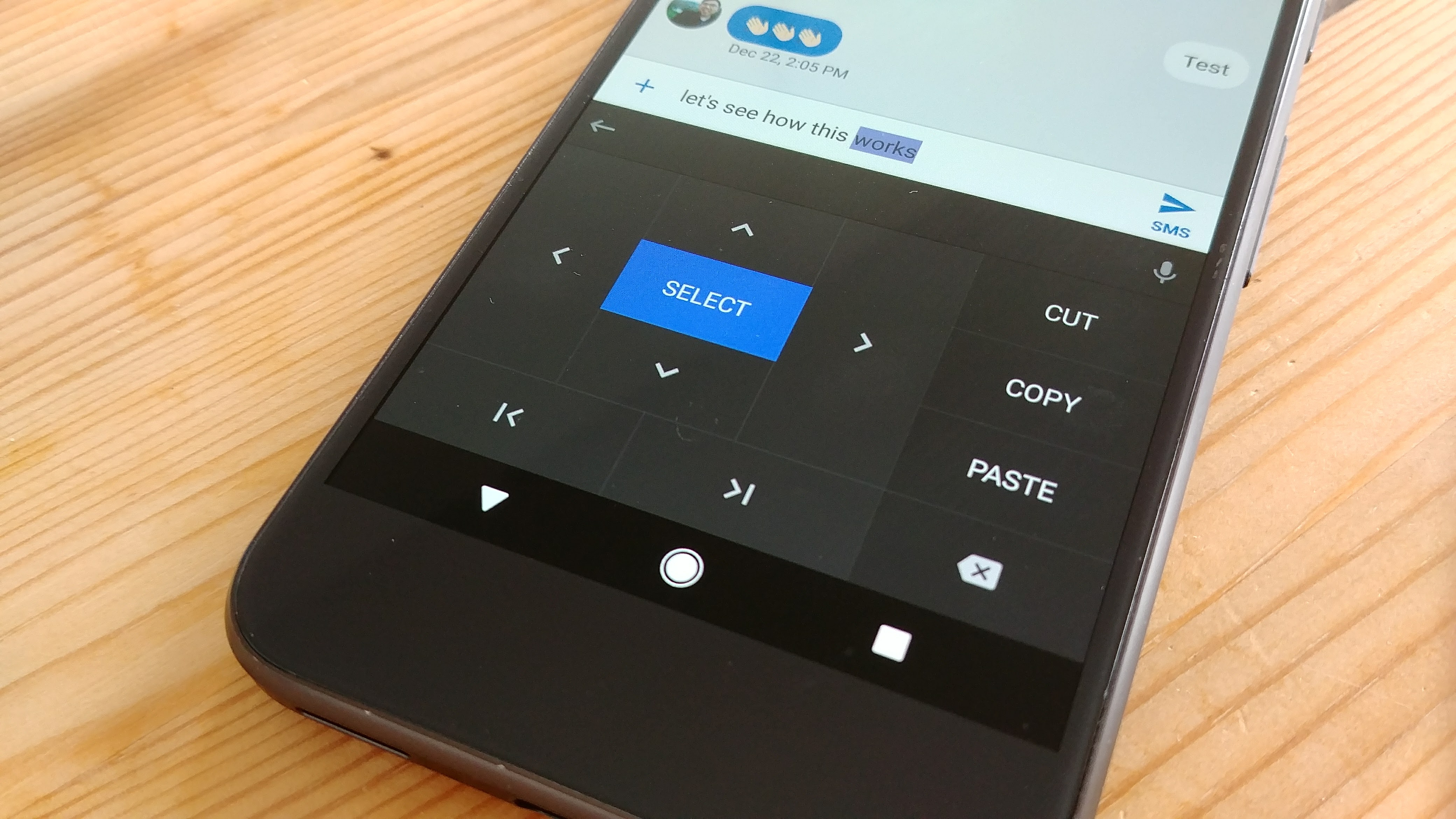 Google is making it easier to edit text on your Android