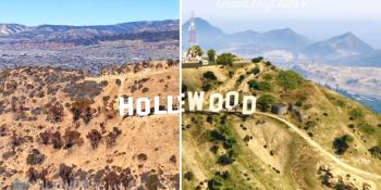 Grand Theft Auto V vs. Google Earth reveals Rockstar's attention to detail