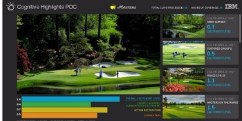 IBM Watson AI will help spot great shots at The Masters golf tournament