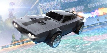 Watch us play with Dom Toretto's 'Fast and Furious' Charger in Rocket League
