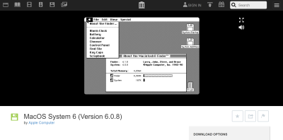 Internet Archive now lets you emulate early Macintosh