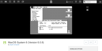 Internet Archive now lets you emulate early Macintosh software