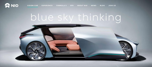 chinese electric vehicle startup nio will sell mass production car next year venturebeat. Black Bedroom Furniture Sets. Home Design Ideas
