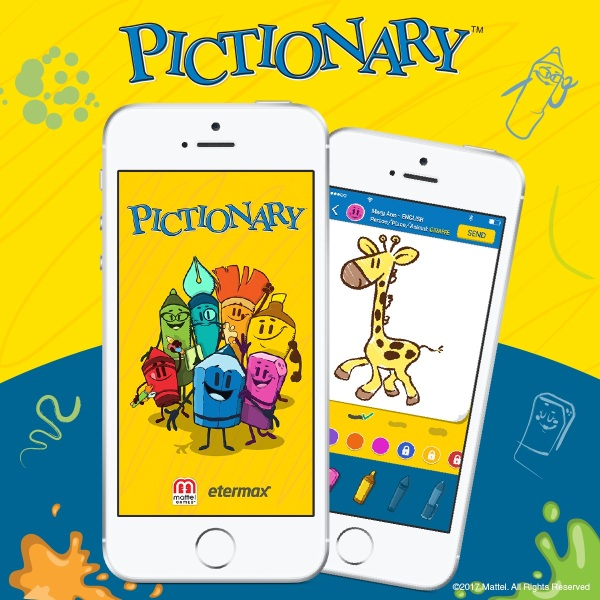 Pictionary's first mobile app lets you sketch on the go ...
