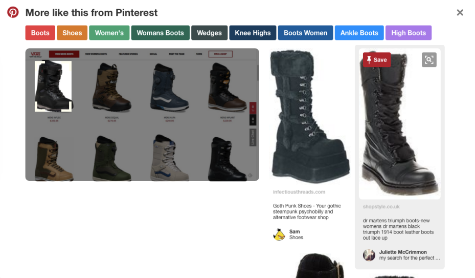 Pinterest improves visual search in its Chrome extension