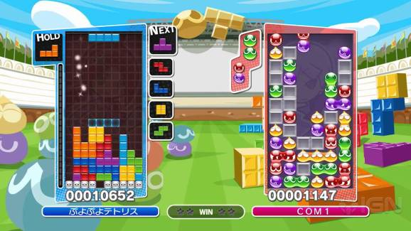 Image result for PUYO PUYO TETRIS