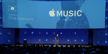 Apple Music is coming to Facebook Messenger