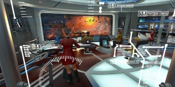 Star Trek: Bridge Crew makes zapping Klingons in VR a hoot
