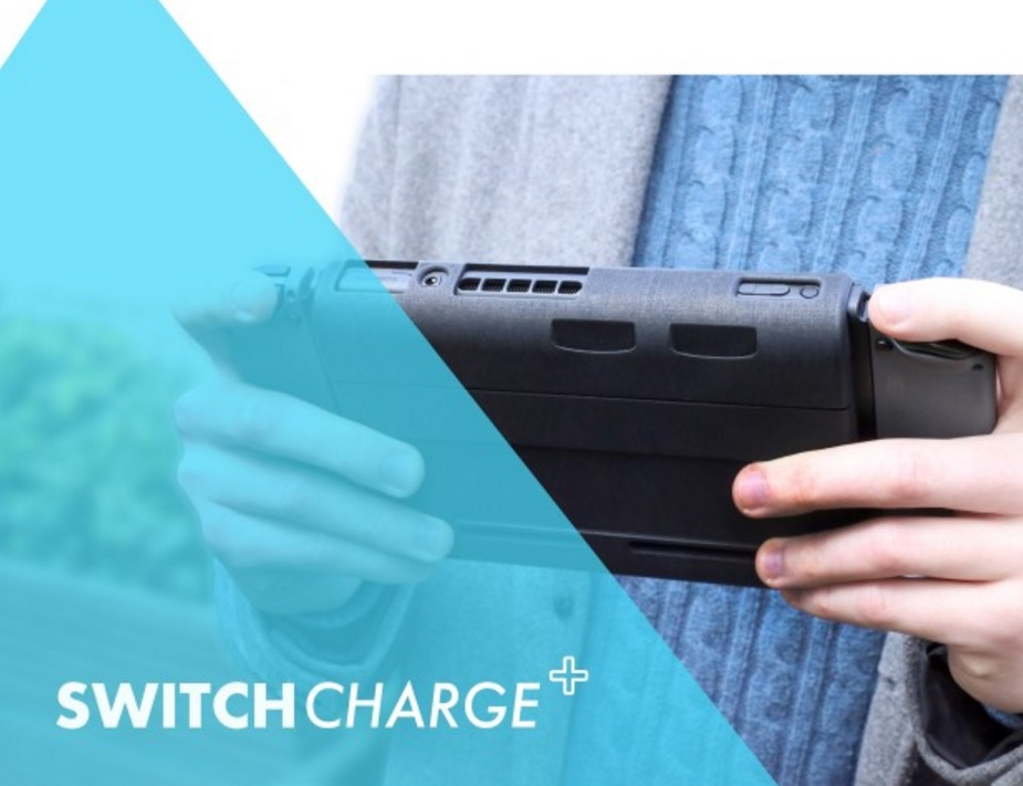 SwitchCharge increases Nintendo Switch battery life by 12 hours