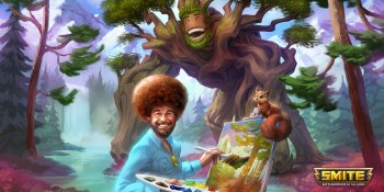 Bob Ross is now on Smite — yes, that Bob Ross