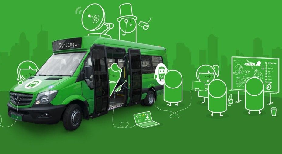 Transport app Citymapper trials its own smart bus and transport service in London
