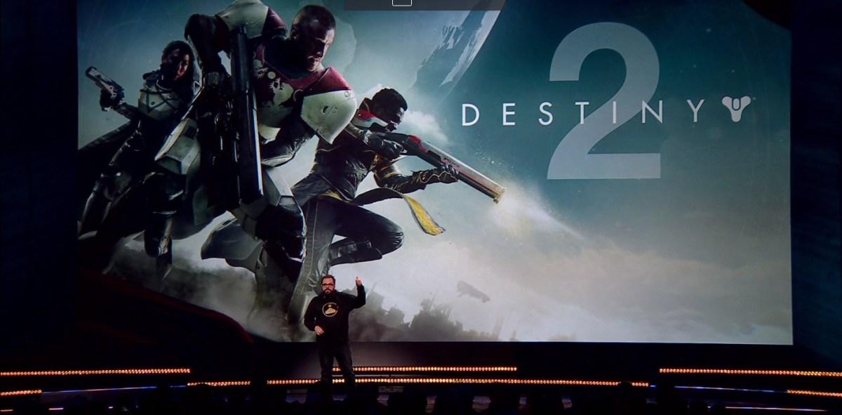 Destiny 2: Hands-on video capture of a live Strike co-op ...