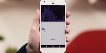 Google Assistant on a Pixel smartphone.