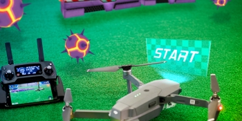 Edgybees mashes up video games and real drones for a futuristic new racer