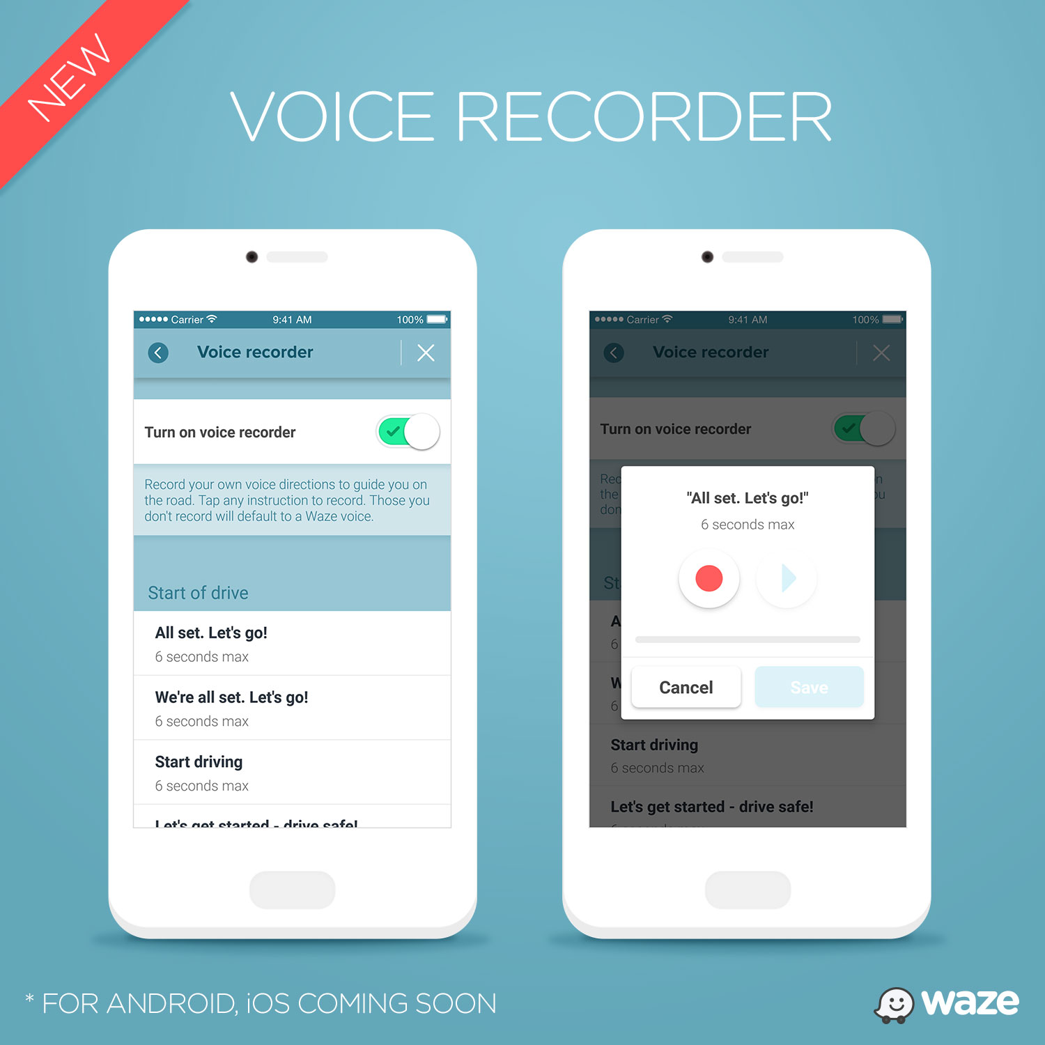 Waze now lets you use your own voice to navigate