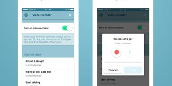 Waze now lets you record your own voice navigation prompts