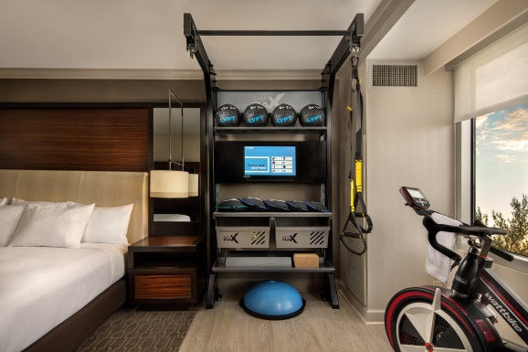 Hilton s bringing the gym to your hotel room venturebeat