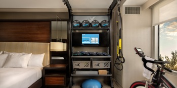 Hilton's bringing the gym to your hotel room